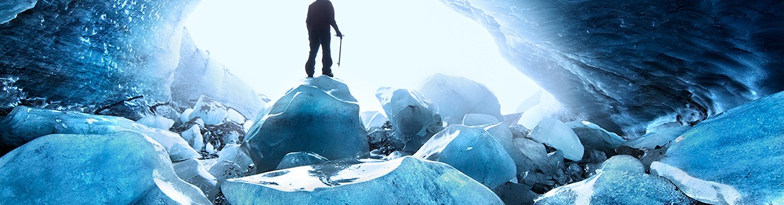 Iceman in the land of ice